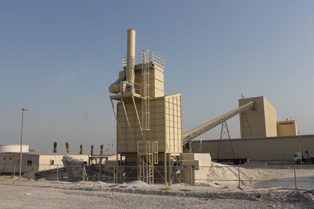 De Dust Plants With Bag Filter
