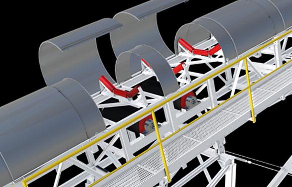 Conveyor Belt Covers UAE