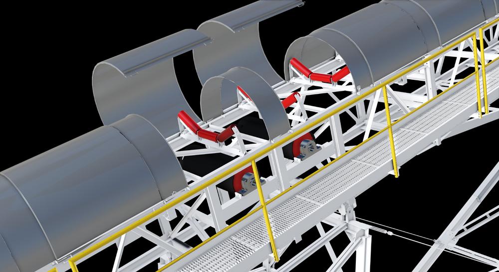 Manufacture Conveyor Belt Covers UAE