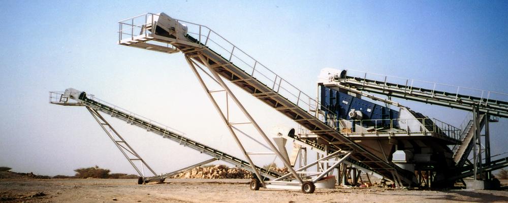 Bulk Material Handling Conveyor UAE